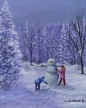 First Snow by Kristi Roberts