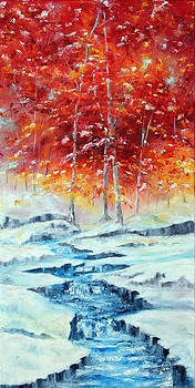 First Snow by Meaghan Troup
