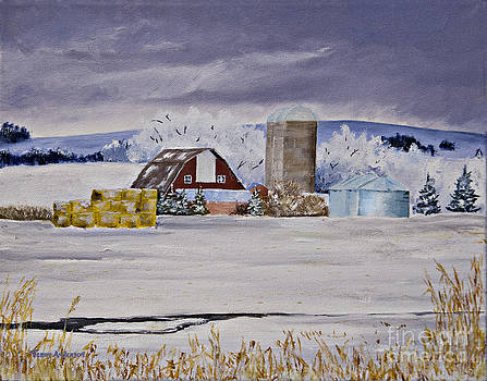 First Snow by Terry Anderson