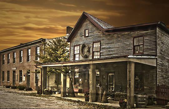 Randall Branham - First town named for George  Washington