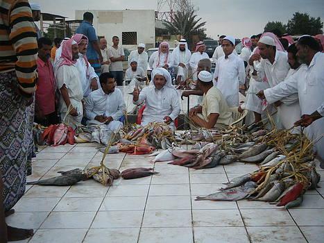 Fish Souq by Khaled AlMarwani