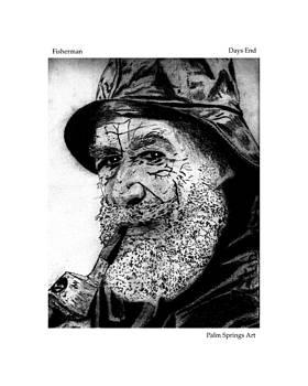 Fisherman Days End by Dennis Begnoche