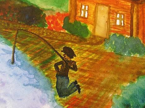 Fisherman by Debbie Nester