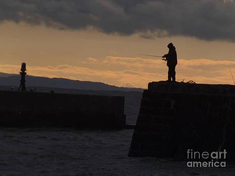 Fisherman by Fergus Mitchell