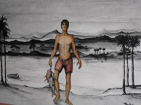 Fisherman by Jorge Parellada