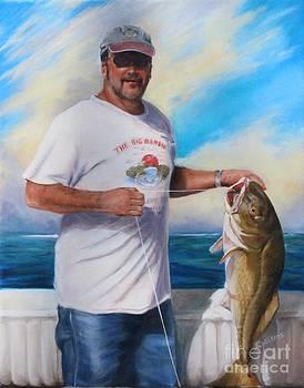 Fisherman by Sharon Wilkens