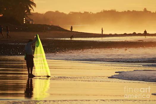 Fisherman Sunrise #2 by Stav Stavit Zagron
