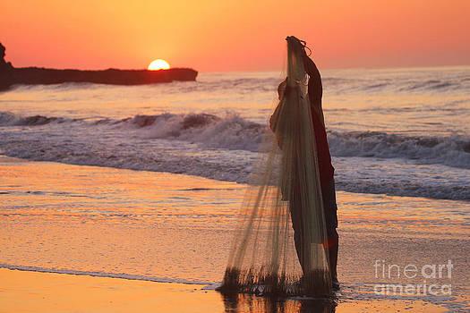 Fisherman Sunrise by Stav Stavit Zagron