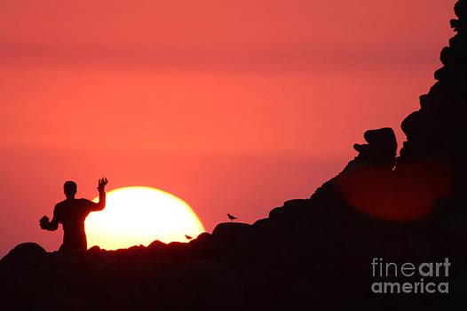 Fisherman Sunset by Stav Stavit Zagron