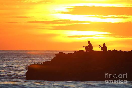 Fishermen Sunset by Stav Stavit Zagron