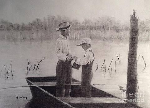 Fishin' Buddies by Mary Lynne Powers