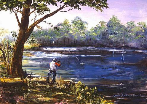 Fishin' by Carole Powell