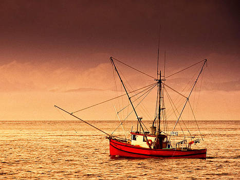 Fishing Boat in Ketchikan by Bill Boehm