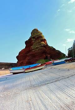 Fishing Boats by Theresa Selley