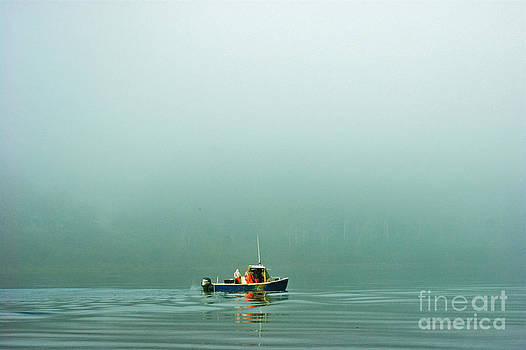 Fishing in the Fog by Christopher Mace