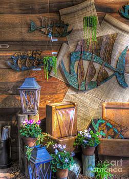 Fishing in the Gallery by Matthew Hesser