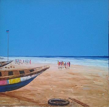 Fishing Market by Francis Amoah