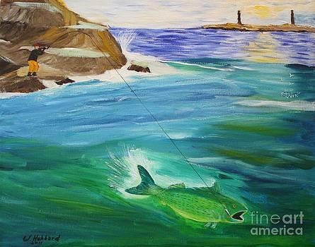 Bill Hubbard - Fishing The Fall Run at Dawn