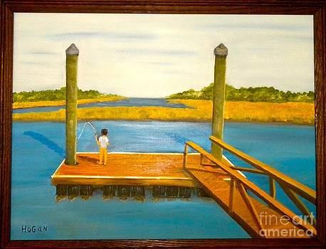 Fishn' On The Dock by Hogan Willis