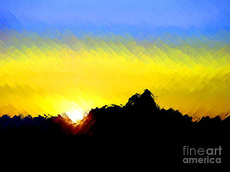 Five Forty Five AM Grand Canyon by Jack Gannon