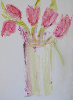 Five Tulips by Cindy Lawson-Kester