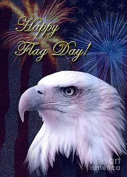 Jeanette K - Flag Day Eagle