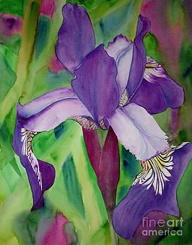 Flag Iris by Elizabeth  McRorie