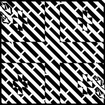 Flag of Georgia Maze  by Yonatan Frimer Maze Artist