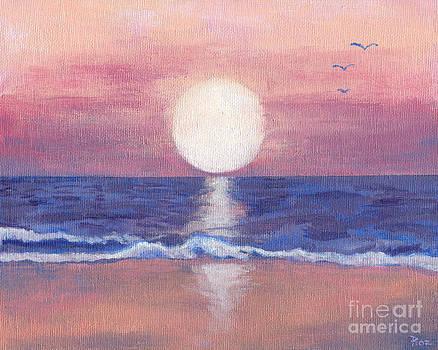 Flagler Beach Dream by Roz Abellera Art