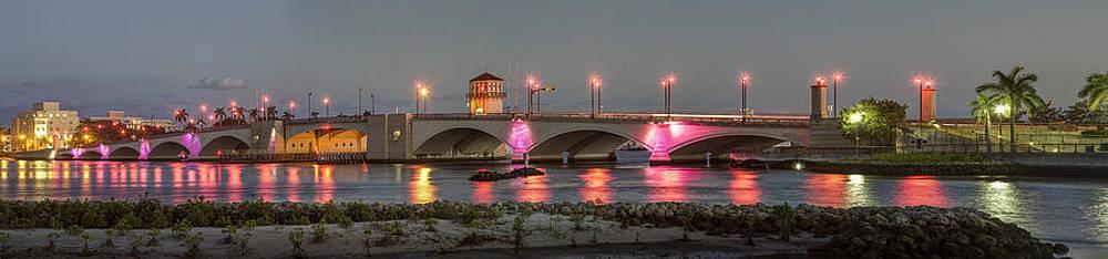Debra and Dave Vanderlaan - Flagler Bridge in Pink
