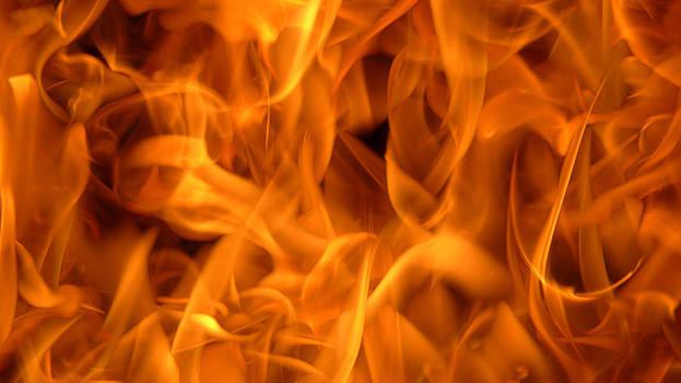 Flame Scape Series 3 by Joseph Desmond