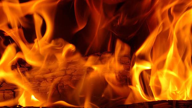 Flame Scape Series 4 by Joseph Desmond