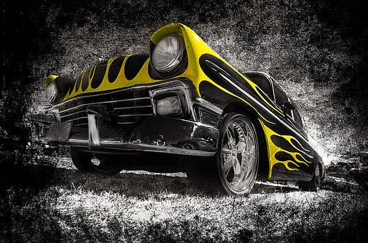 motography aka Phil Clark - Flamed Chevrolet Bel Air
