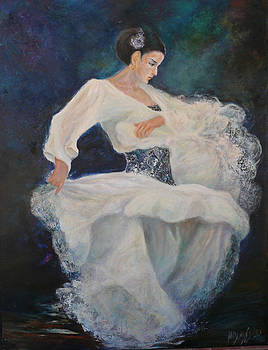 Flamenco 2 by Sylva Zalmanson