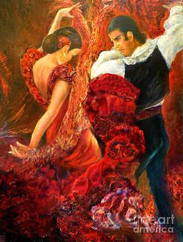 Flamenco couple AA by Sylva Zalmanson