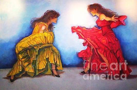 Flamenco Ii by Dagmar Helbig