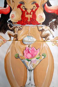 Flamenco of fertility  by Lazaro Hurtado