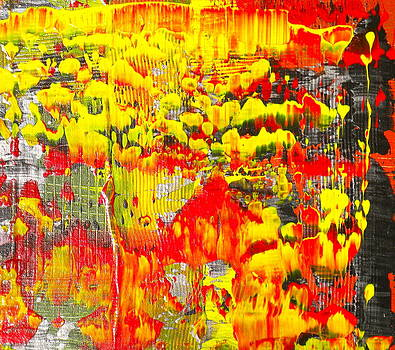 Flames of Abstract 3 by Dylan Chambers