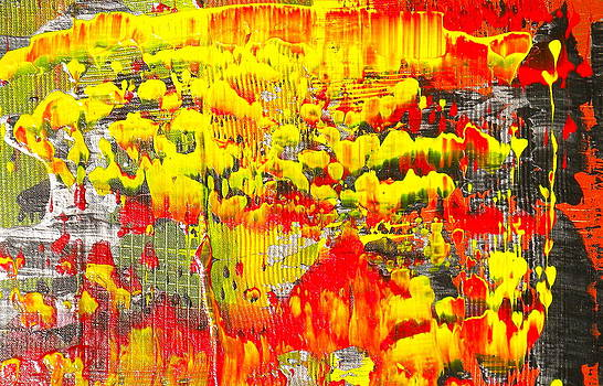 Flames of Abstract 4 by Dylan Chambers