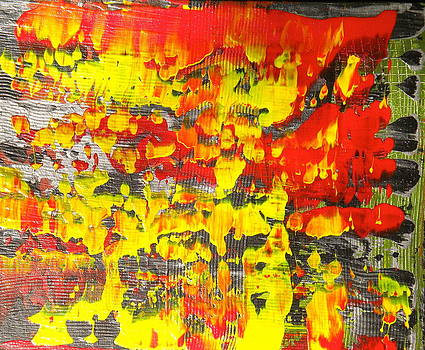 Flames of Abstract 5 by Dylan Chambers