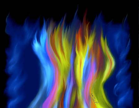 Flames Of Color by William  Paul Marlette