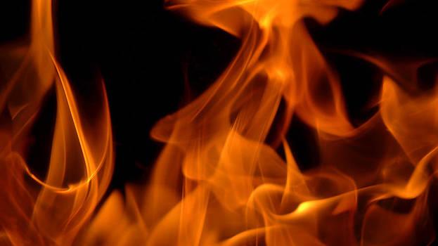 Flame Scape Series 1 by Joseph Desmond