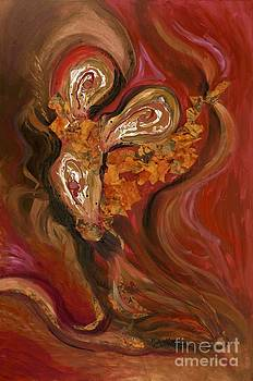 Flaming Bouquet by Nadine Rippelmeyer