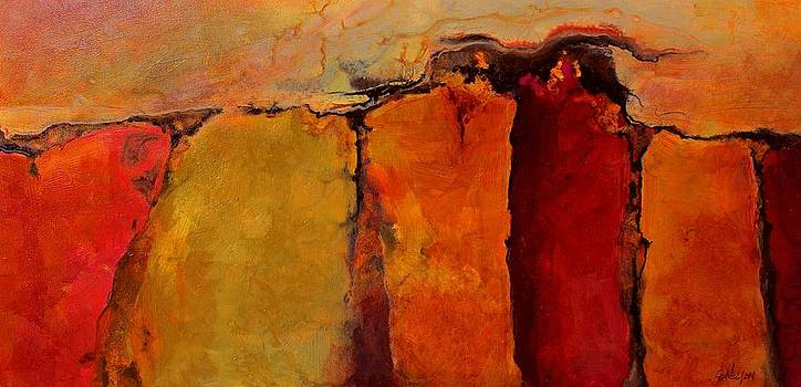 Flaming Gorge by Carol  Nelson
