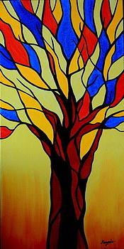 Flaming Tree by Mangala Shenoy
