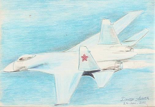 Flanker  Su-27 by Danish Anwer