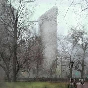 Flat Iron Building by Carrie Joy Byrnes