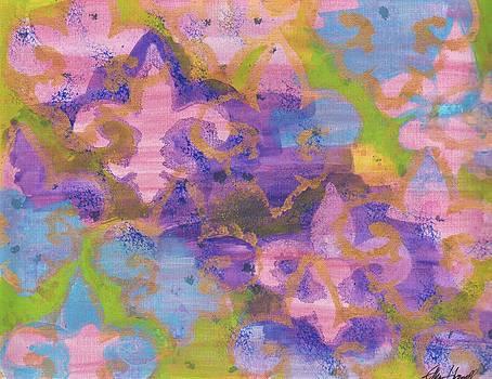 Fleur de Lis 1 by Ellen Howell