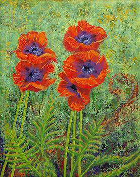 Fleurs des Poppies by Margaret Bobb