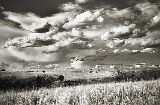 Flint Hills Prairie by Thomas Bomstad